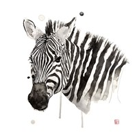 Zebra II Fine Art Print