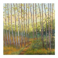 Vista Trees Fine Art Print