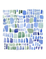 Series Sea Glass No. IV Fine Art Print