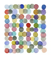Series Colored Dots No. II Fine Art Print