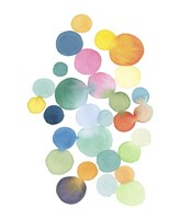Series Colored Dots No. III Fine Art Print