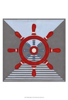 Nautical Graphic IV Fine Art Print