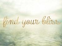 Water Bliss I Framed Print