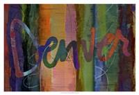 Abstract Denver Fine Art Print