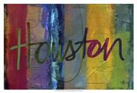 Abstract Houston Fine Art Print