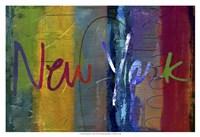 Abstract New York Fine Art Print