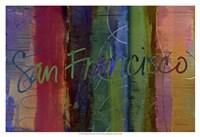 Abstract San Francisco Fine Art Print