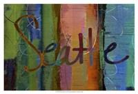 Abstract Seattle Fine Art Print