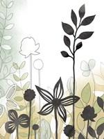 Sketchbook Garden II Fine Art Print