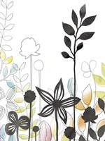 Sketchbook Garden IV Fine Art Print