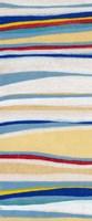 Wavy Lines I Framed Print