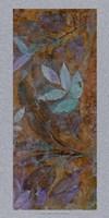 Leaf Shimmer II Framed Print