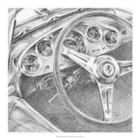 Behind the Wheel I Fine Art Print
