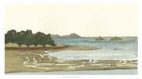 Spa Coastline I Framed Print