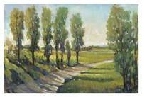 Lush Landscape I Framed Print