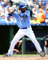 Alcides Escobar 2016 Action Fine Art Print