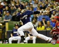 Ryan Braun 2016 Action Fine Art Print