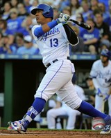 Salvador Perez 2016 Action Fine Art Print