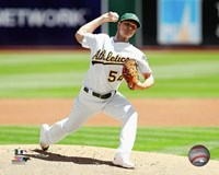 Sonny Gray 2016 Action Framed Print