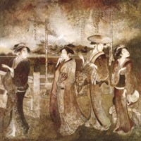 Eastern Gathering Fine Art Print