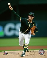 Sonny Gray 2016 Action Fine Art Print