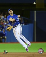 Troy Tulowitzki 2016 Action Fine Art Print