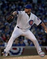 Jon Lester 2016 Action Fine Art Print