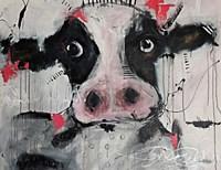 Cow Pink Fine Art Print