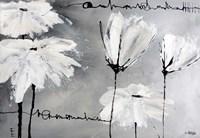 White Flowers Fine Art Print