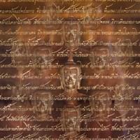 Buddha - Scripture Fine Art Print