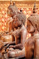Buddhist Students Fine Art Print