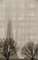 Eiffel in the Fog Fine Art Print
