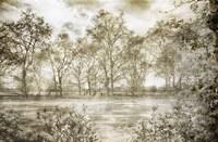 Hyde Park II Framed Print