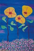 Saturns Flowers Fine Art Print