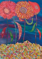Blooms of Mars Fine Art Print