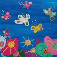Butterflies Garden Fine Art Print