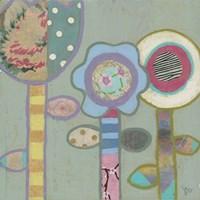 Three Flowers Fine Art Print