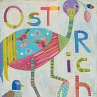 Ostrich Fine Art Print