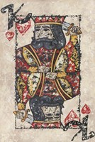 King of Hearts Fine Art Print