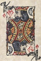 King of Diamonds Fine Art Print