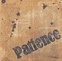 Patience Fine Art Print