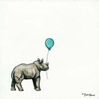 Nursery Rhino Fine Art Print
