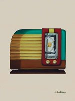 Old Fashion Radio Fine Art Print