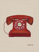 Phone with a Cord Fine Art Print