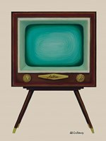 TV Set Fine Art Print