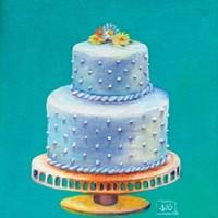 Daisy Wedding Cake Fine Art Print