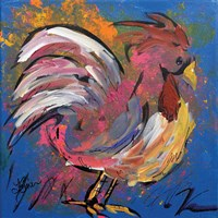 Funky Chicken Fine Art Print