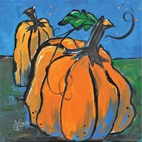 Pumpkins at Twilight Fine Art Print