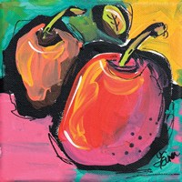 Zany Apples Fine Art Print