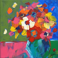 Abstract Vase Fine Art Print